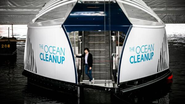 The Ocean Cleanup unveils scalable solution to intercept river plastic pollution
