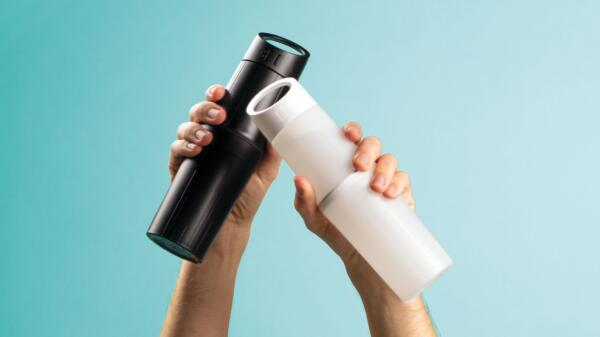 BE O bottle - From oil plastic to bioplastic