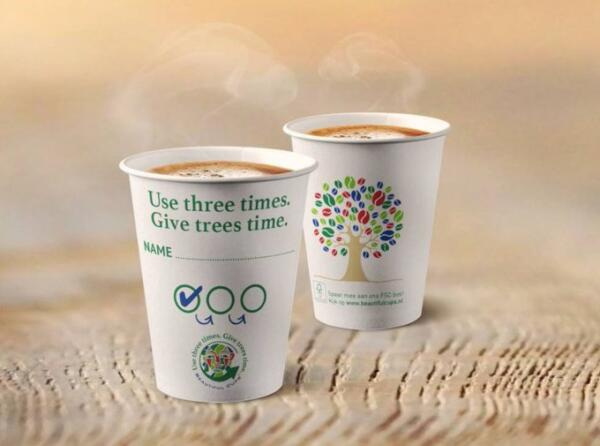 Beautiful Cups & Renewi – From coffee cup to paper products