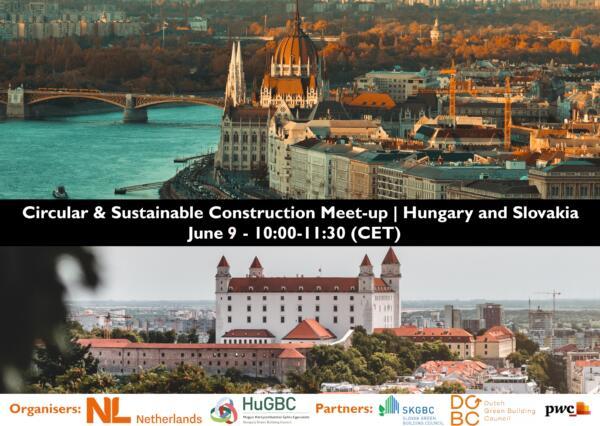 Circular & sustainable construction Meet-up | Hungary and Slovakia