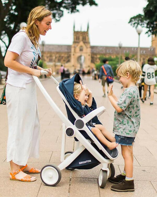 Greentom - The greenest stroller on planet earth