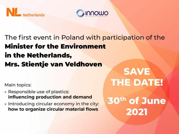 The first digital visit to Poland of the Minister for Environment in the Netherlands, Stientje van Veldhoven