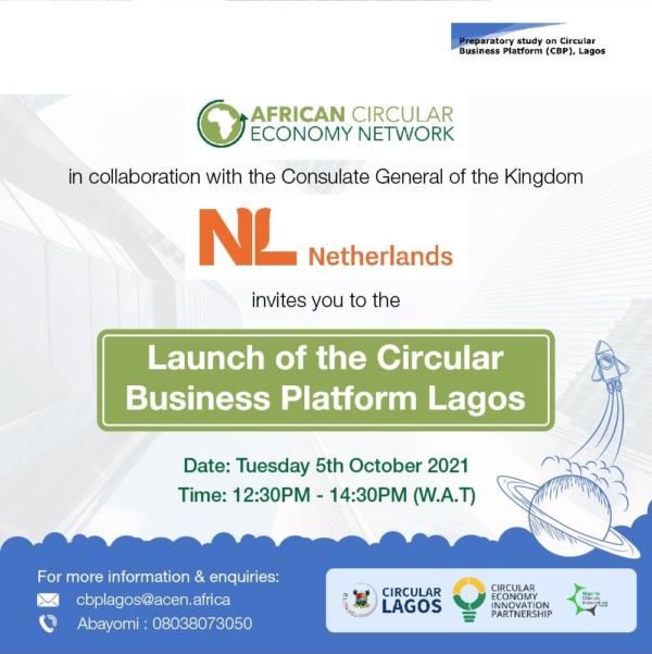 Launch of the Circular Business Platform Lagos (CBPL)